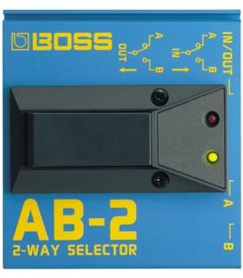 Selector de 2 vias Boss AB-2