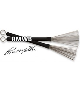 Par de escobillas Vic Firth Russ Miller Wire Brush RMWB