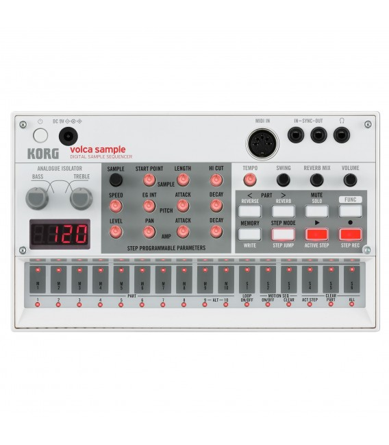 Korg Volca Sample sampler & sequencer
