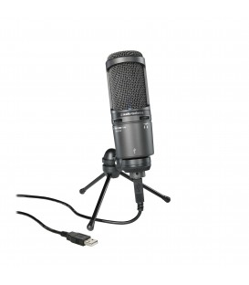 Micrófono de condensador Audio-Technica AT2020 USB+