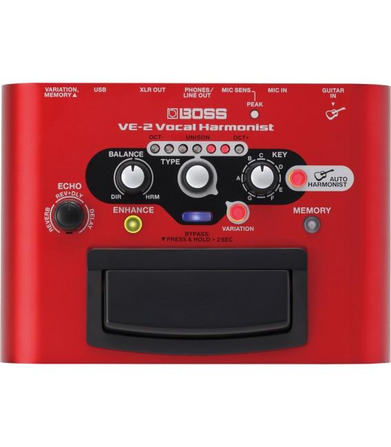 Armonizador vocal Boss VE-2