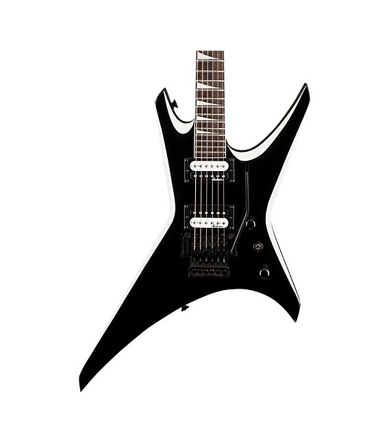 Jackson JS32 Warrior Black with White Bevels