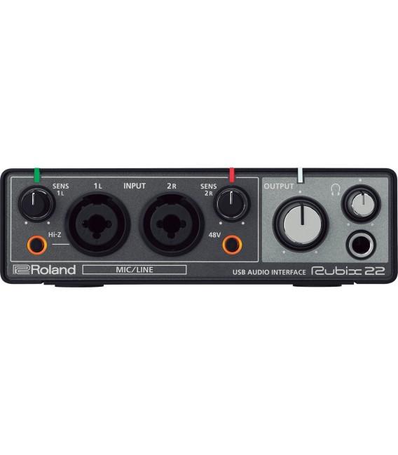 Interface Audio/MIDI Roland Rubix22