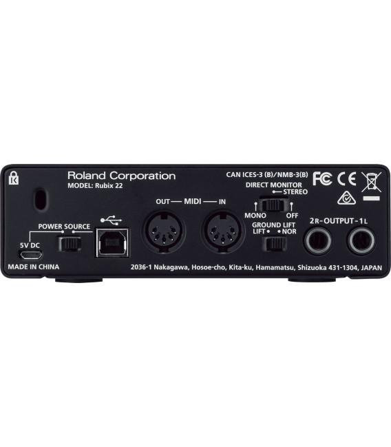 Roland Rubix22 Interface