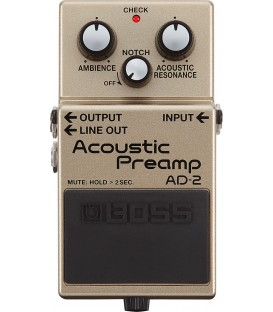 Pedal Boss Acoustic Preamp AD2