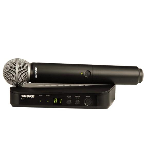 Shure BLX24/SM58 H8E wireless system