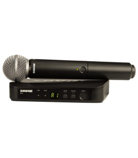 Shure BLX24/SM58 H8E wireless system