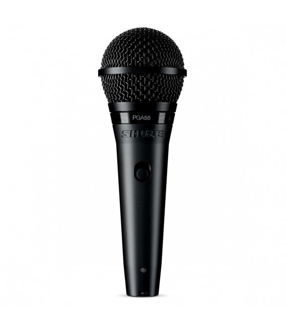Shure PG58 dynamic microphone