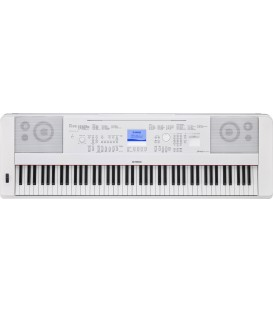 Piano digital Yamaha DGX660WH