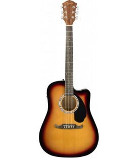 Electroacústica Fender FA-125CE Dreadnought SB
