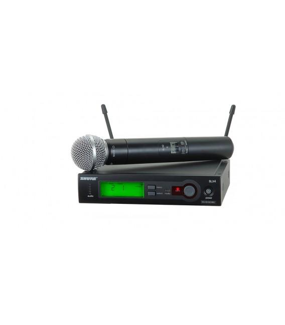 Sistema inalámbrico Shure SLX24E/SM58 L4E