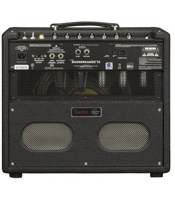 Fender Bassbreaker 15 Midnight Oil Amplifier