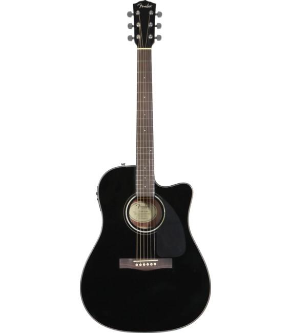 Fender CD-140SCE BK electro acoustic guitar