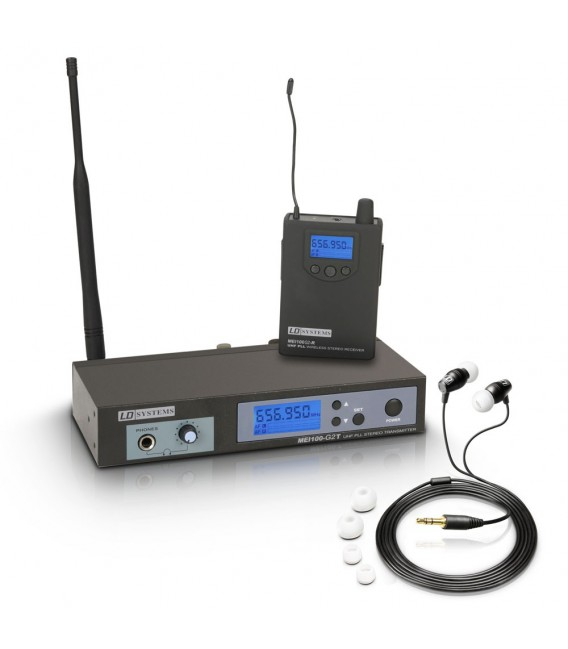 LD Systems MEI-100 G2 B6 wireless In-Ear Monitoring System