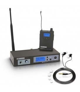 Sistema de Monitoraje inalámbrico In-Ear LD Systems MEI-100 G2 B6