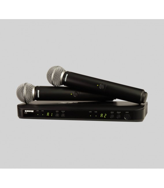 Shure BLX288/SM58 H8E Wireless microphone system