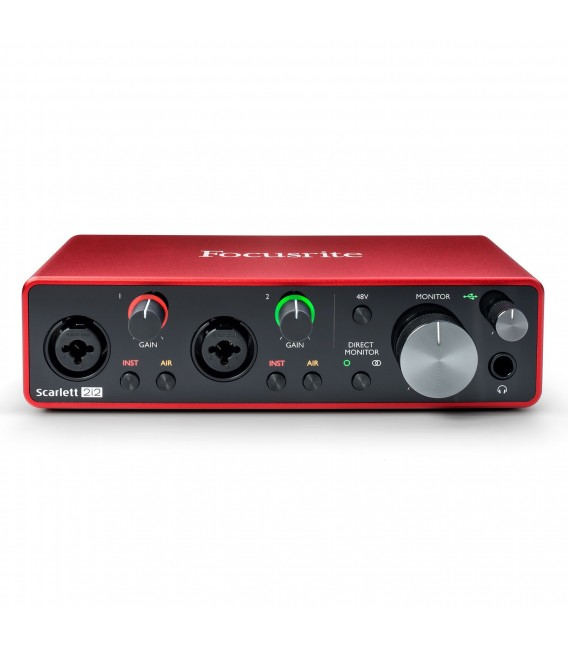 Interface de audio Focusrite Scarlett 2i2 3rd Gen