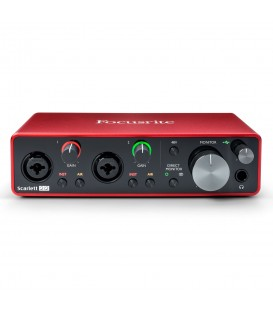 Focusrite Scarlett 2i2 3rd Gen audio interface