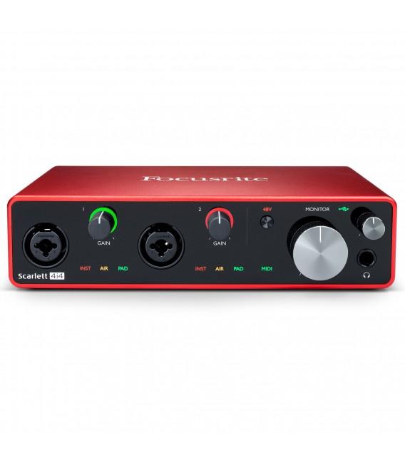 Interface audio/MIDI Focusrite Scarlett 4i4 3rd Gen