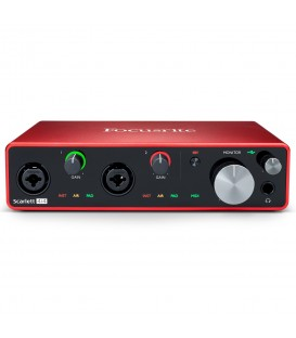 Interface audio/MIDI Focusrite Scarlett 4i4 3rd Gen