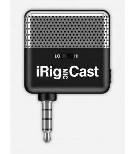 Micrófono para móvil IK Multimedia iRig Mic Cast