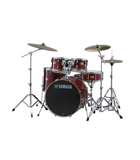 Batería Yamaha Stage Custom Birch SBP2F5 Cramberry Red