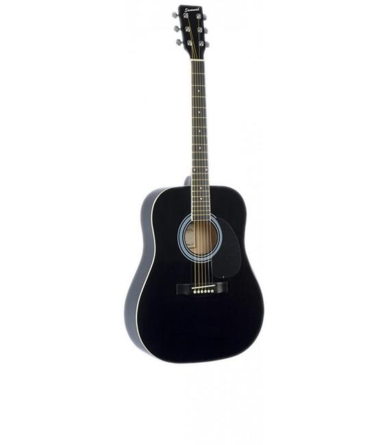 Savannah SG610-CEQ9 Black Electroacoustic guitar