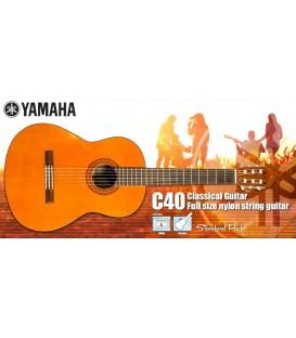 Yamaha C40P Guitar Pack