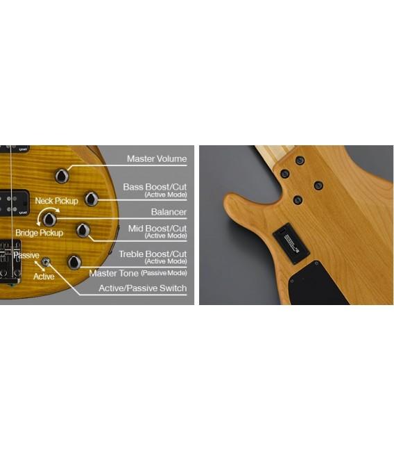 Yamaha TRBX604FM Natural Satin Bass