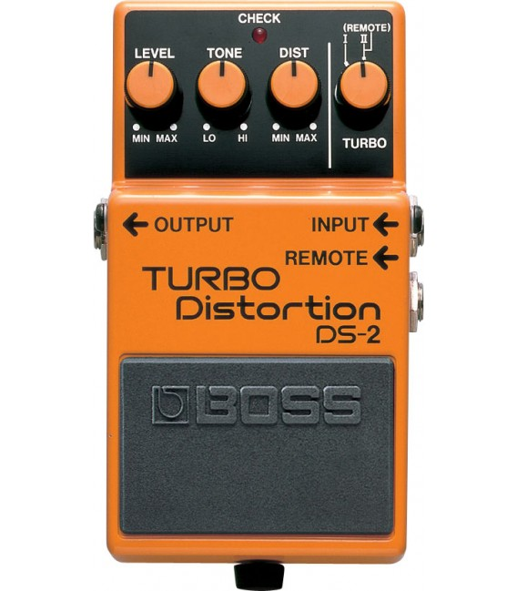 Boss DS-2 Turbo Distortion pedal
