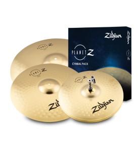"Zildjian Planet-Z 14""+16""+20"" PZ4PK cymbal pack"