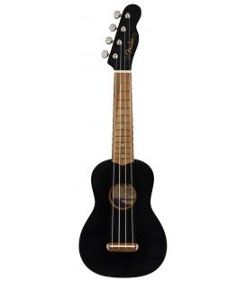 Fender Venice soprano Ukelele Black