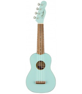 Fender Venice soprano Ukelele Daphne Blue
