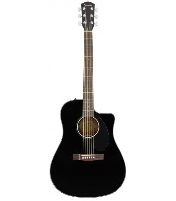 Electroacústica Fender CD-60SCE BK