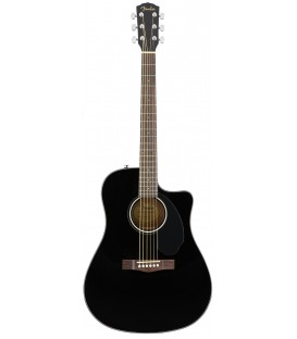 Fender CD-60SCE BK electro acoustic guitar
