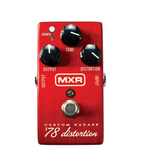 Pedal MXR Custom Badass 78 Distortion M78