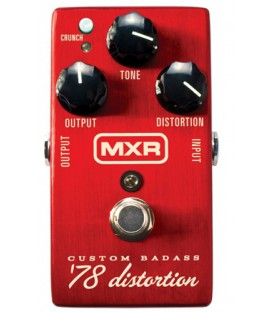Pedal MXR Custom Badass 78 Distortion M78