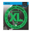 Juego cuerdas bajo Daddario EXL220-5 40-125 (5 cuerdas)
