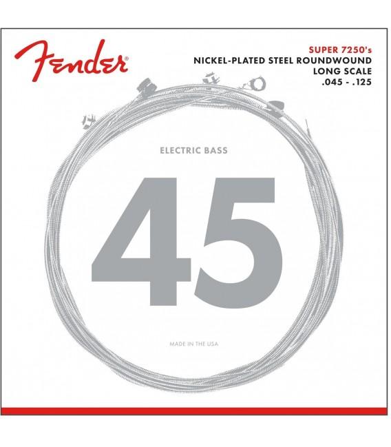 Juego cuerdas bajo Fender 7250-5L 40-115 RW (5 cuerdas)