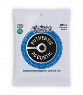 Juego cuerdas acústica Martin MA530 10-47