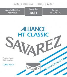 Juego cuerdas clásica Savarez Alliance azul 540J