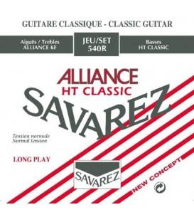Juego cuerdas clásica Savarez Alliance roja 540R
