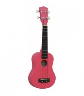 Ukelele Soprano Daytona UK211RS rosa