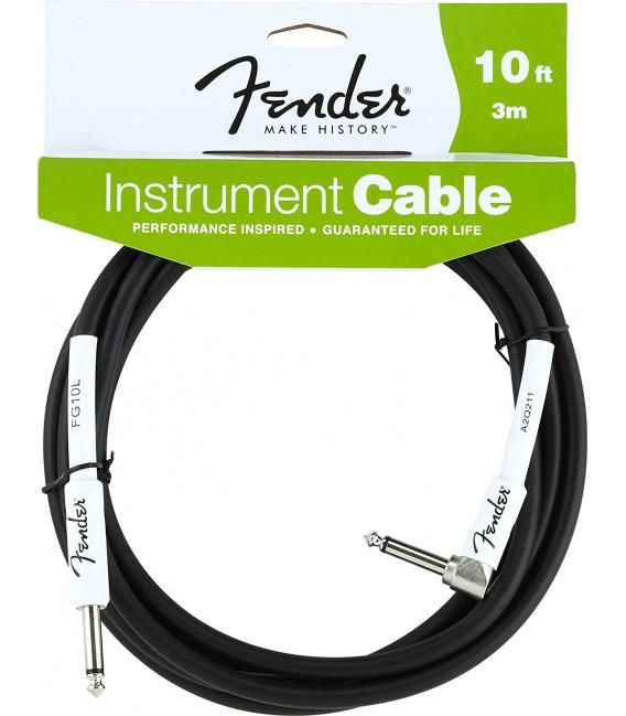 Cable Fender 10ft acodado modelo 820-025