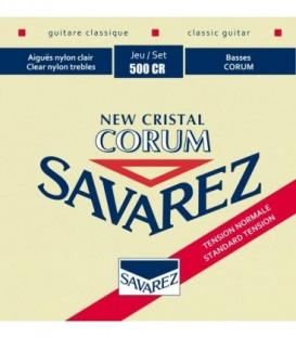 Juego cuerdas clásica Savarez Corum New Cristal roja 500CR