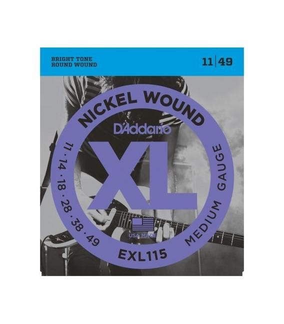 Daddario EXL115 electric guitar strings 11-49