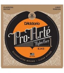 Juego cuerdas clásica Daddario EJ43 TS