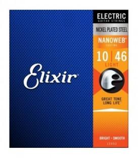 Juego cuerdas eléctrica Elixir 12052 10-46