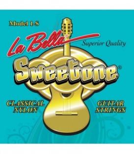 Juego cuerdas clásica La Bella Sweetone 1-S