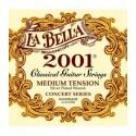 Juego cuerdas clásica La Bella 2001M